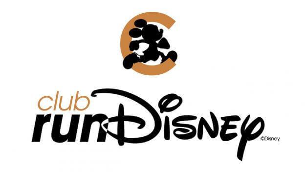 """Das Logo des """"club runDisney"""""""