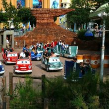 Cars Race Rally in den Walt Disney Studios