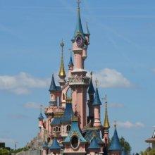 Hintergrund: Dornröschenschloss in Disneyland Paris