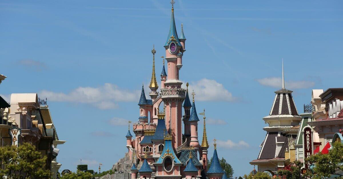 Dornröschen Schloss des Disneyland Paris