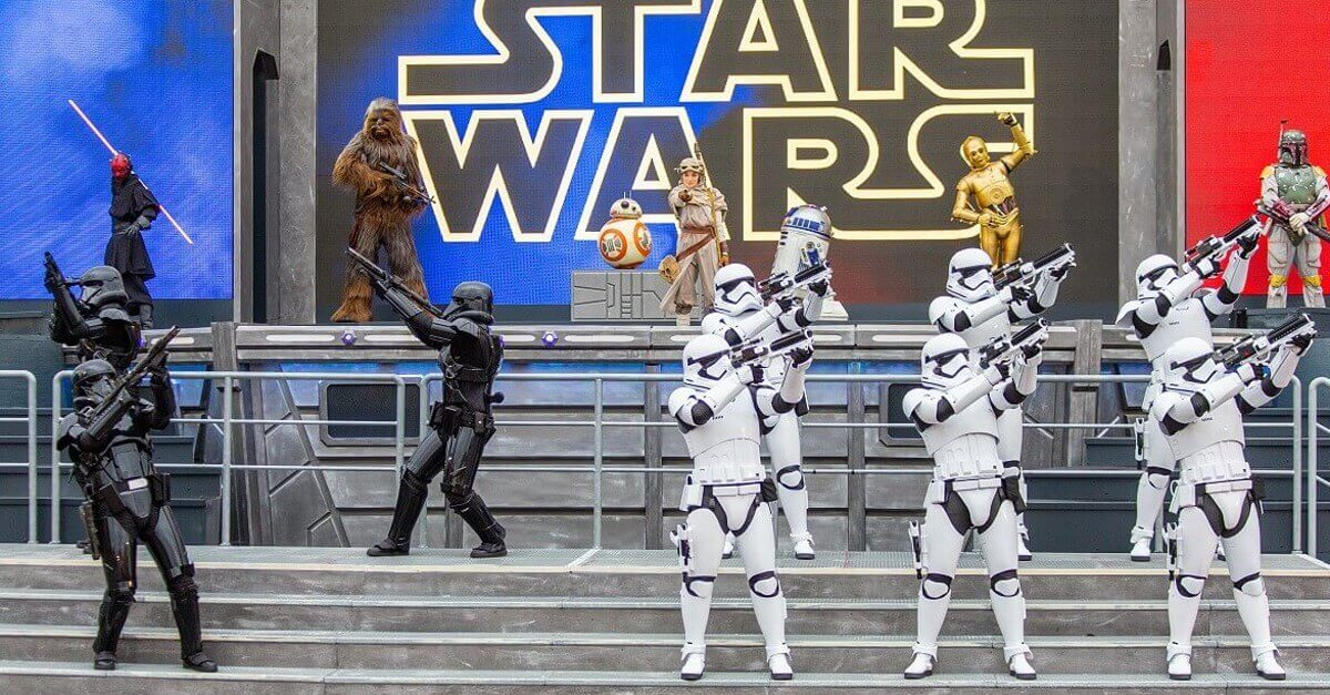 Star Wars: Legenden der Macht Saison in Disneyland Paris