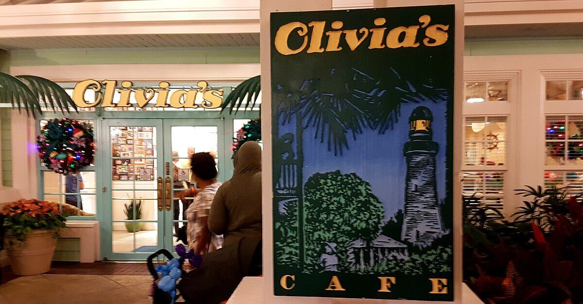 Eingang zu Olivia's Cafe in Disney's Old Key West Resort