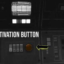 Instrumente und Leuchten im Cockpit