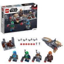 LEGO Minifiguren und Bauset aus Star Wars - Der Mandalorianer