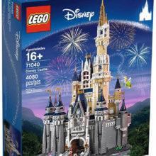 Cinderella Schloss aus LEGO Steinen