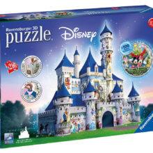 Disney Schloss in 3D als Puzzle