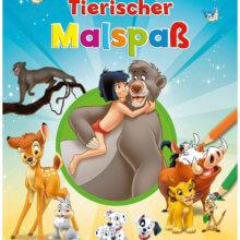 """Disney Charaktere als Cover """"Tierischer Malspaß"""""""