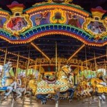 Hintergrund: Historischer Standort von Disneyland Paris