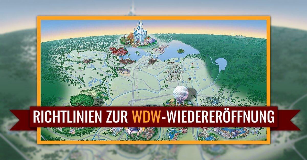 Orange County stellt Empfehlungen für Regeln und Richtlinien zur Wiedereröffnung von Walt Disney World vor