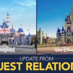 Eine Nachricht von Disneys Guest Relation zur Wiedereröffnung