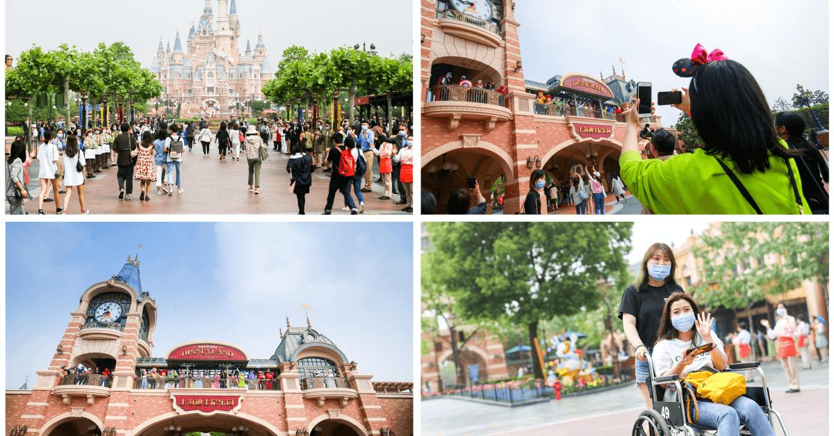 Bilder der Wiedereröffnung aus Shanghai Disneyland