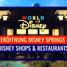 Gewerkschaftsvertreter: Disney Shops & Restaurants in Disney Springs eröffnen  am 27. Mai 2020 wieder