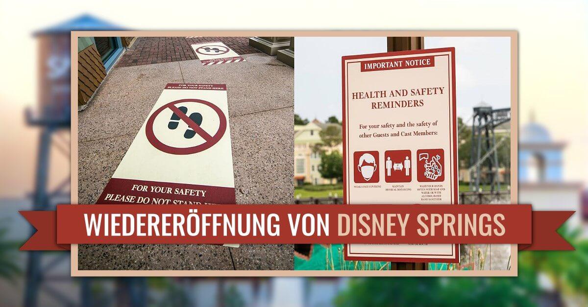 Wiedereröffnung von Disney Springs