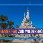 Disneyland Paris veröffentlicht Cast Member FAQ zur Wiedereröffnung des Resorts