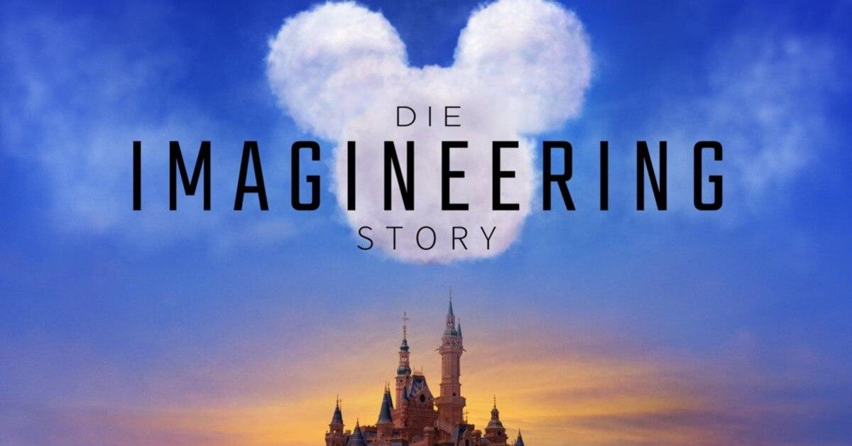 Disney Schloss und Mickey mouse Wolke: die Imaginnering Story