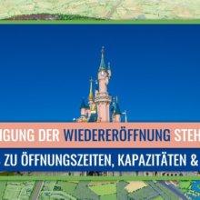 Neue Details zur Wiedereröffnung von Disneyland Paris
