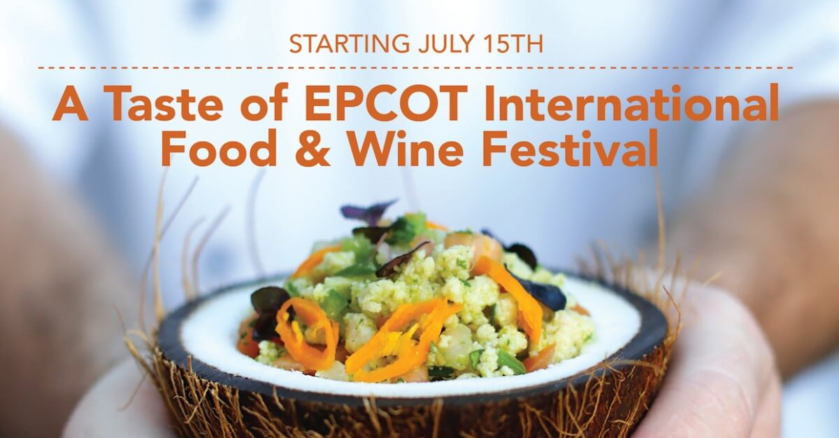 A Taste of Epcot - neues Festival in Walt Disney World