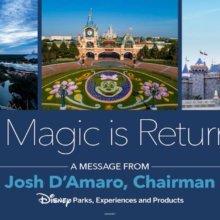 Josh d'Amaro: die Magie kehrt zurück!