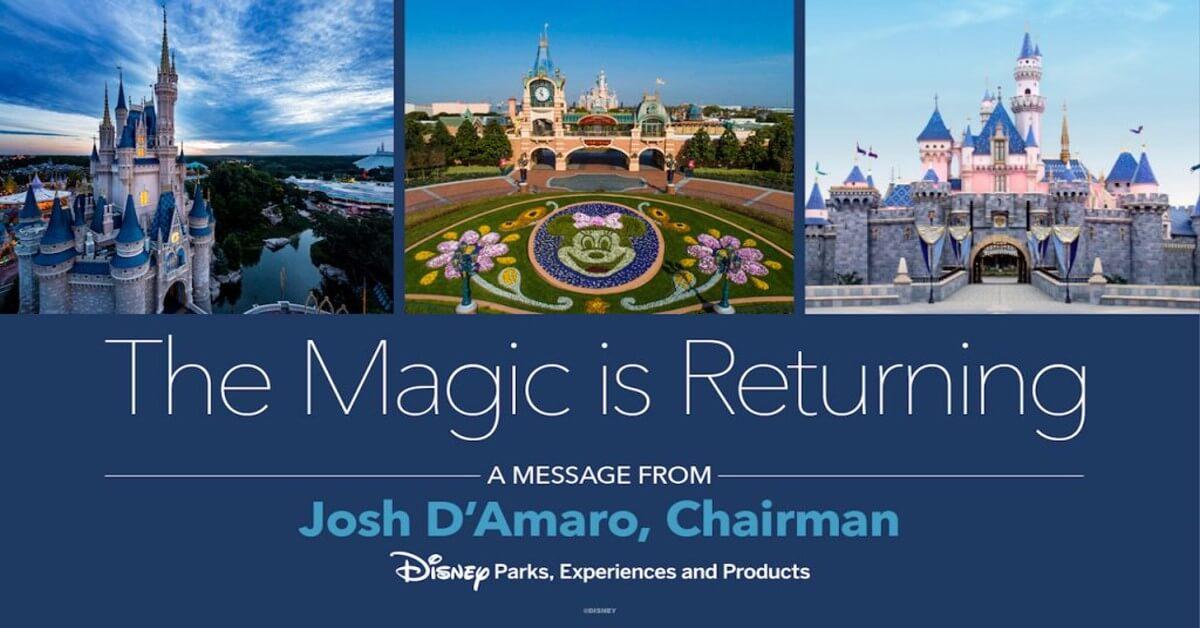 Die Magie kehrt zurück - Botschaft von Josh D'Amaro