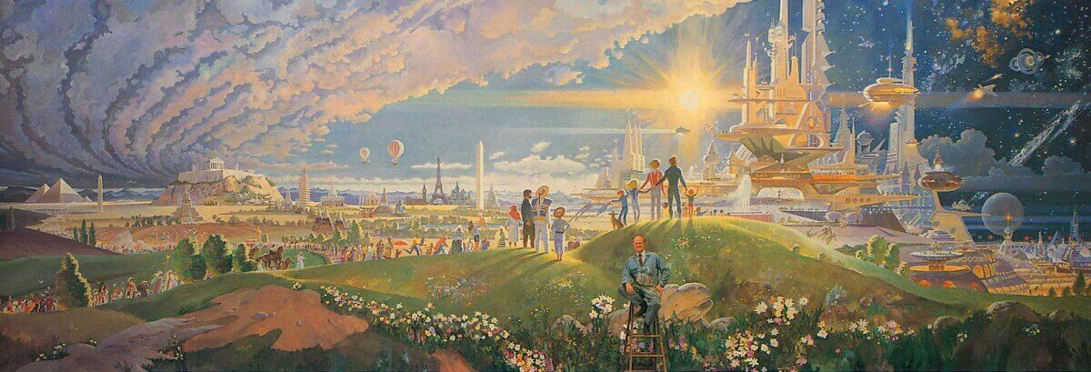 The Prologue and the Promise Gemälde von Robert McCall