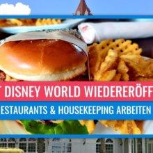 Cast Member in Walt Disney World kehren an Arbeitsplätze zurück