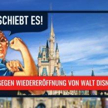 Cast Member Petition gegen Wiedereröffnung von Walt Disney World