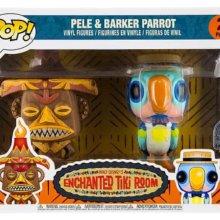 Zwei Funko Pop-Figuren in einer Verpackung passend zum Enchanted Tiki Room im Adventureland