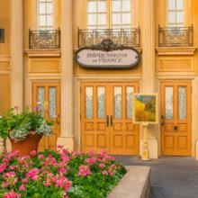 Eingang zum Theater von Impressions de France in Epcot