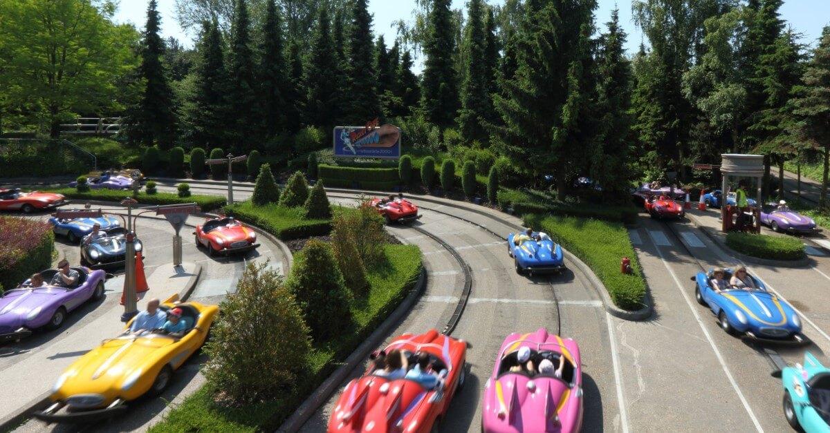 Autopia - Highway der Zukunft in Disneyland Paris