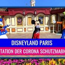 Disneyland Paris - Präsentation der Corona Schutzmaßnahmen