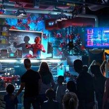 WEB Slingers - Konzeptzeichnung für Spider-Man Attraktion