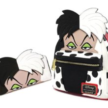 Cruella De Vil Rucksack und Geldbeutel