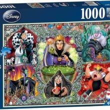 Ursula, Malefiz, Cruella und andere Disney Bösewichte