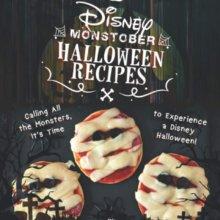 Halloweensnacks im Disneylook auf Buchcover
