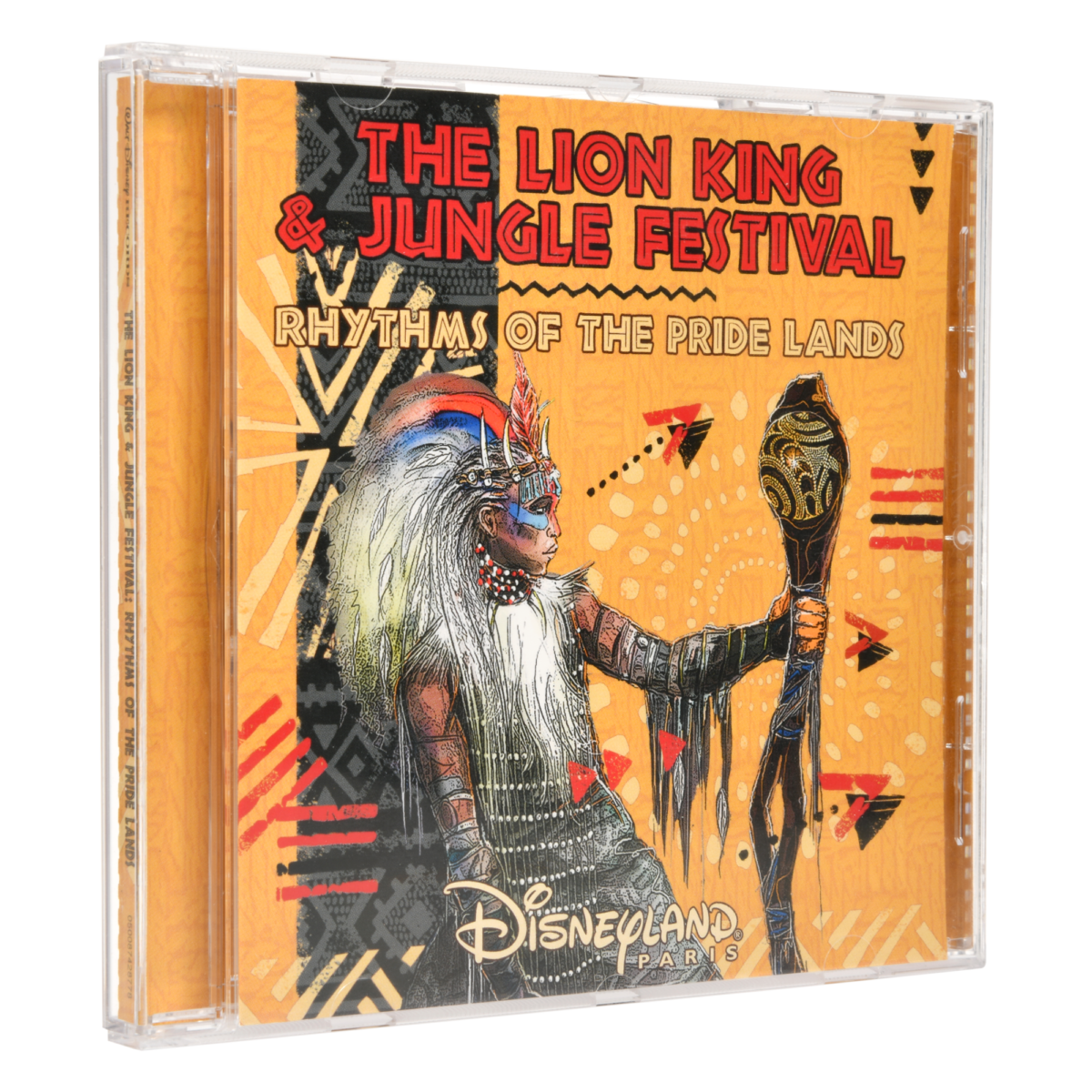 CD Cover zur Rhythms Of The Pride Lands Show im Disneyland Paris