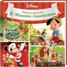 Mickey, Pinoccio und Susi und Strolch sind auf dem weihnachtlichen Buchcover