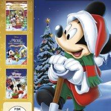 Weihnachts-Mickey ziert das Cover einer DVD