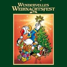 Donald schmückt mit Tick, Trick und Track den Weihnachtsbaum