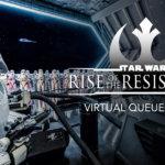 Virtuelle Warteschlange im Test: Star Wars - Rise of the Resistance