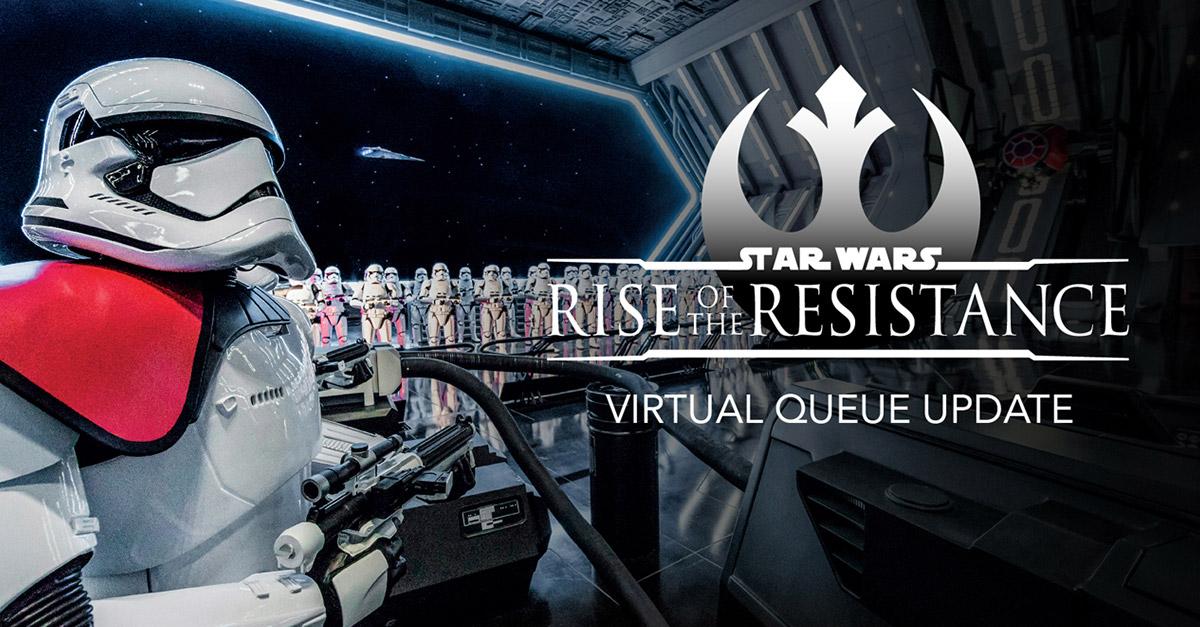 Große Eingangshalle von Star Wars - Rise of the Resistance