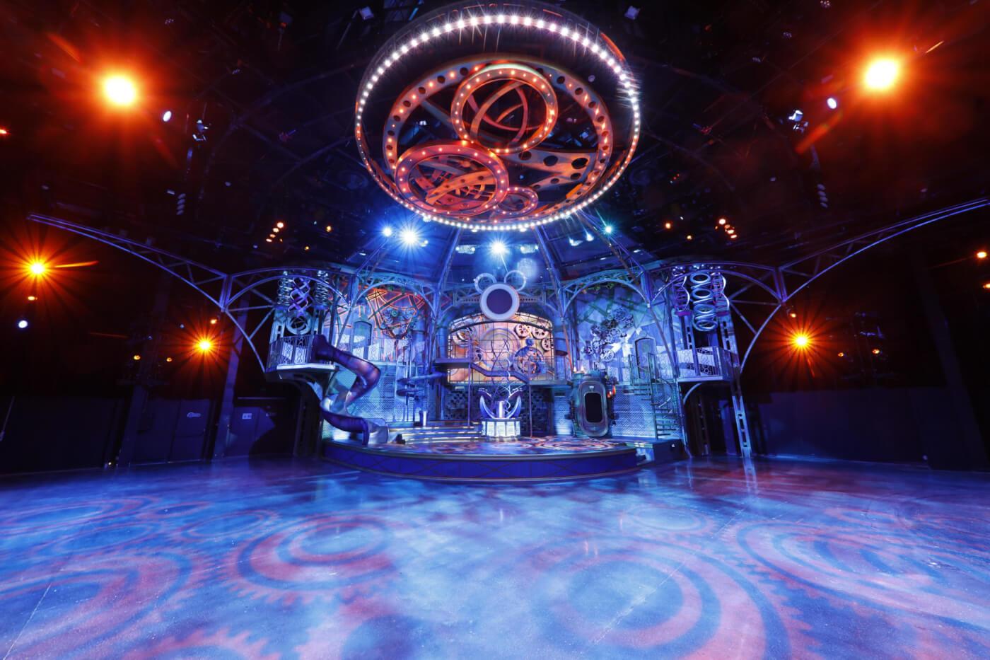Disney Dream Factory Bühne in Studio D