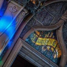 Eingang zur Schlossboutique im Dornröschenschloss