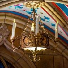 Kerzenlicht in der Schlossboutique