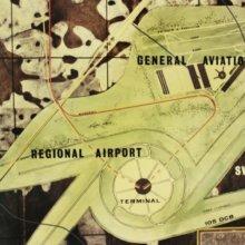 Planungsskizzen für einen Flughafen auf dem Walt Disney World Gelände