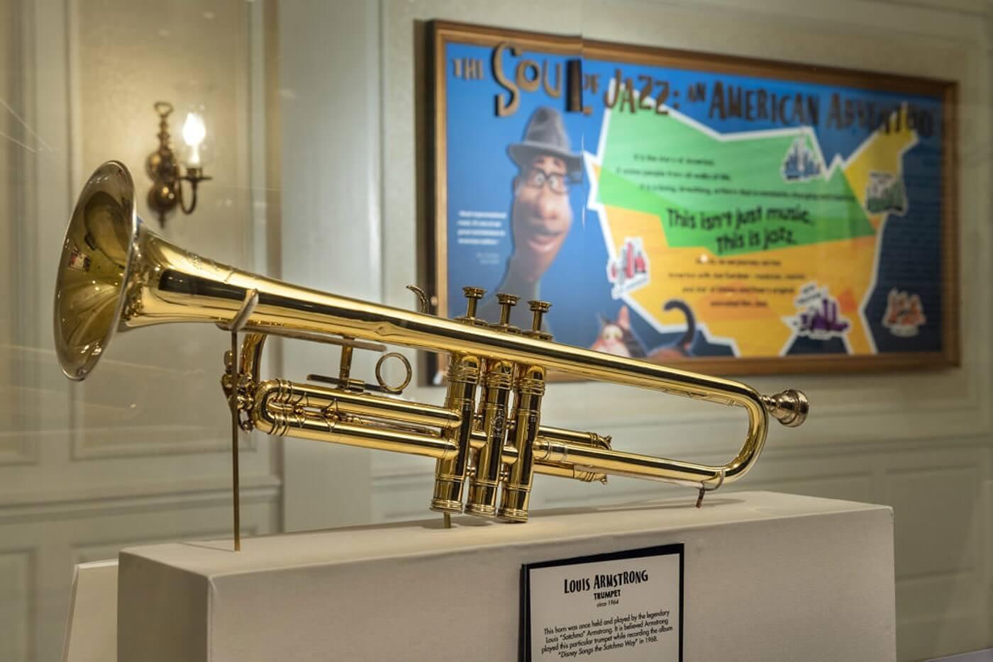 Die Selmer-Trompete der Jazz-Legende Louis Armstrong