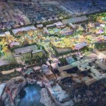 Concept Art zum Disneyland Resort Erweiterungsplan DisneylandForward