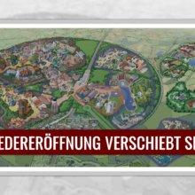 Wiedereröffnung von Disneyland Paris verschiebt sich auf unbestimmte Zeit
