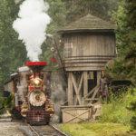 Eine Fahrt mit der Disneyland Railroad
