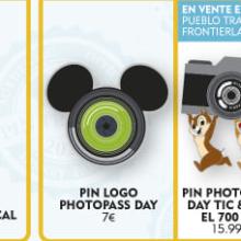 drei Pins zum Photopass Day in Disneyland Paris