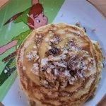Disney-Rezept: Apple Granola Pancakes aus dem Carnation Café